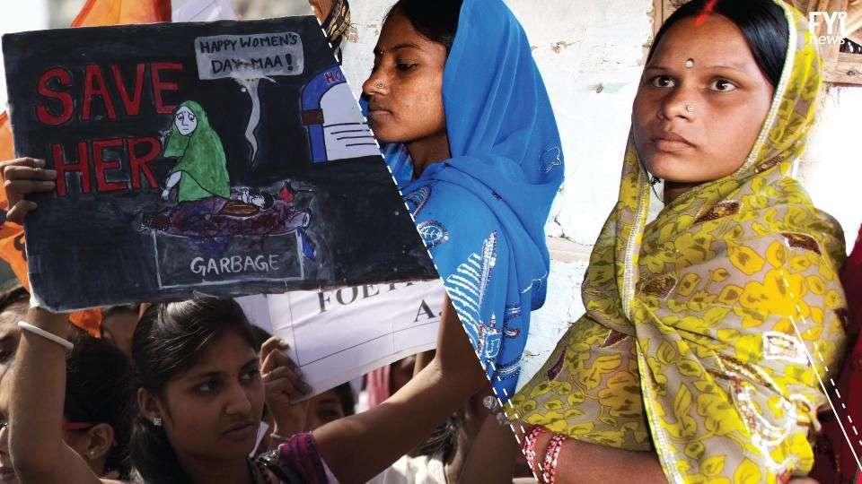 Menina estuprada por padrasto pede para abortar na Índia