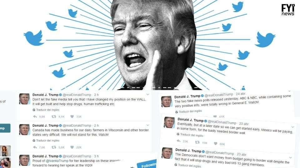 Os tweets controversos de Donald Trump