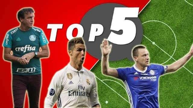 Top 5: As manias e superstições de jogadores e treinadores de futebol