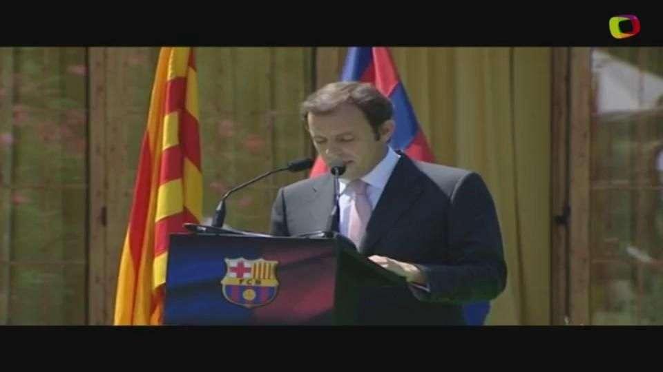 Ex-presidente do Barça é detido por lavagem de dinheiro