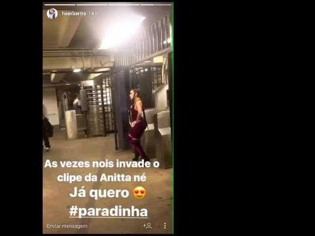 Anitta requebra ao gravar clipe 'Paradinha' no metrô de Nova York. Vídeo!