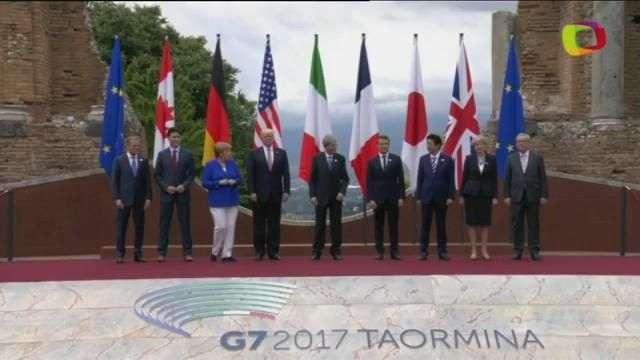 Líderes do G7 inauguram oficialmente cúpula em Taormina