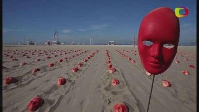 Copacabana amanhece cheia de máscaras por renúncia de Temer