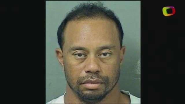 Tiger Woods é detido por dirigir sob efeito de drogas