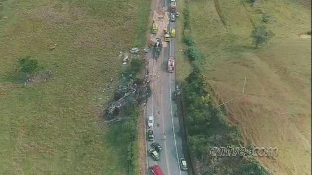 Imagens de drone mostram extensão da maior tragédia do ES
