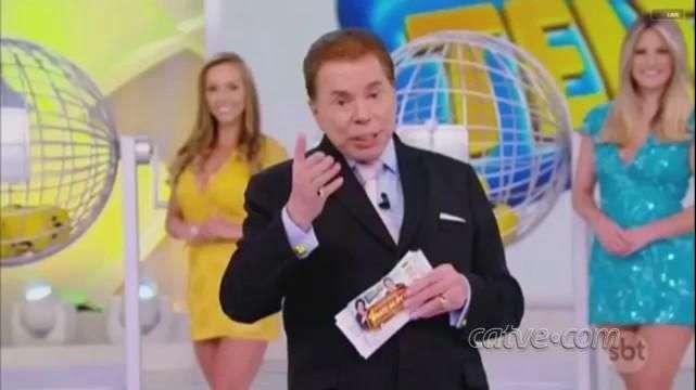 Milionário não retira prêmio e leva bronca de Silvio Santos