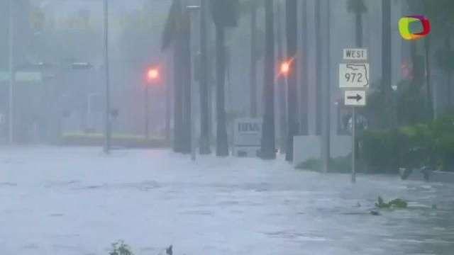Furacão Irma atinge a Flórida e provoca grandes inundações