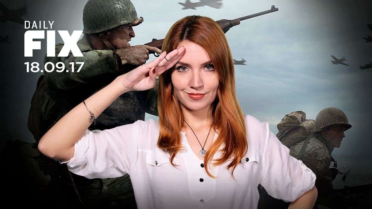 A história de Call of Duty: WWII, os vencedores do Emmy 2017 - IGN Daily Fix