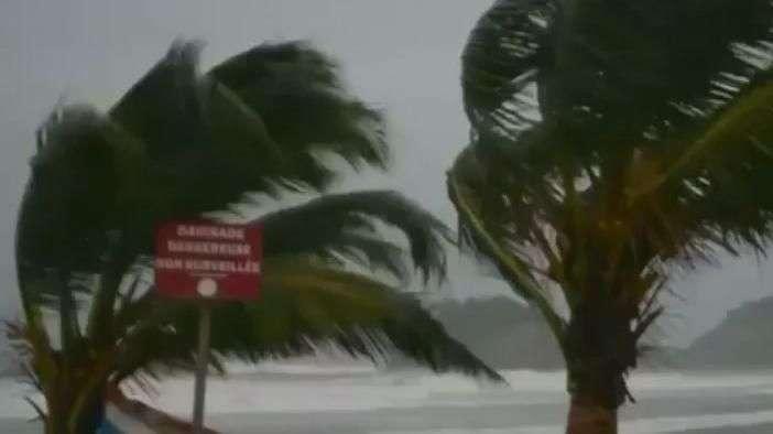 Furacão Maria atinge Caribe
