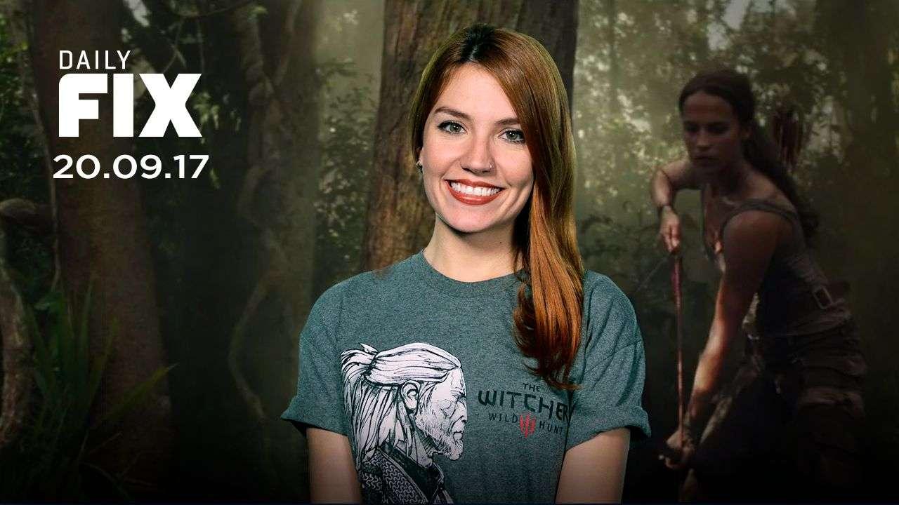 Lara em ação em trailer de Tomb Raider, times brasileiros em FIFA 18 - IGN Daily Fix