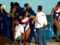 Atletas mostram descuido com forma física; veja