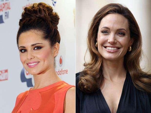Depois da cantora Angelina Jolie aparece em segundo lugar entre as celebridades que as mulheres mais gostariam de beijar Foto: Getty Images