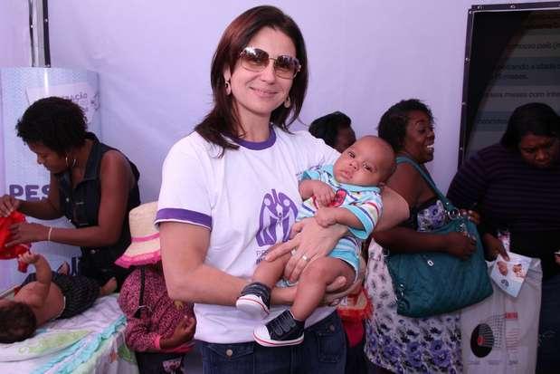 A campanha é promovida pela Sociedade Brasileira de Imunizações (SBIm), do Instituto de Puericultura e Pediatria Martagão Gesteira Foto: Roberto Filho/AgNews
