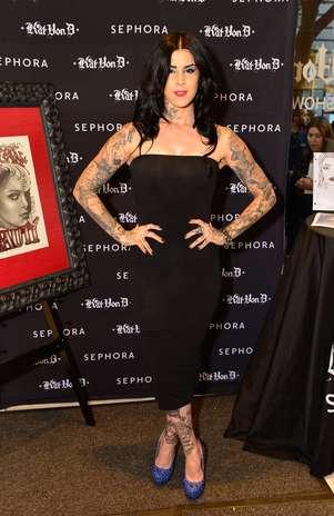 Tatuadora Kat Von D lança linha de maquiagem nos EUA Foto: Getty Images