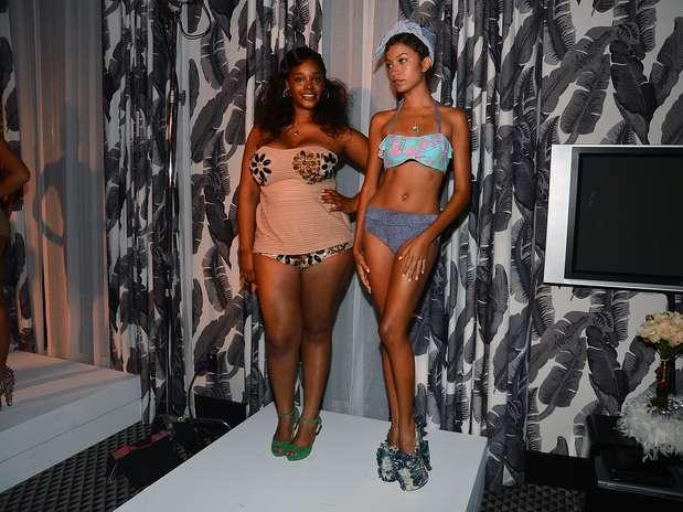 Modelos plus size também tiveram vez  Foto: Getty Images