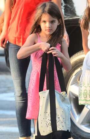 Filha de Tom Cruise é considerada a mais elegante, de acordo com um site britânico  Foto: Grosby Group