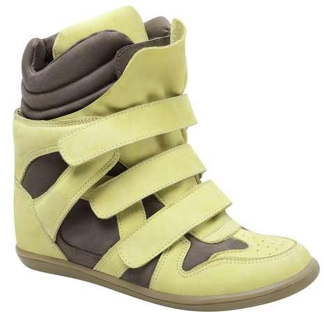 Sneaker Santa Lolla amarelo e cinza sai por R$ 269,90. SAC: (11) 3045-8504 Foto: Divulgação