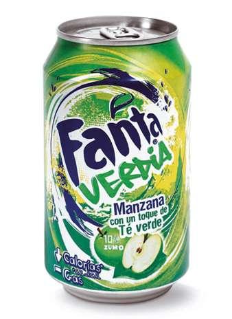 Fanta Verdia: entre todos os sabores exóticos comercializados pela marca, a Fanta também traz a opção que combina refrigerante com maçã verde Foto: Divulgação
