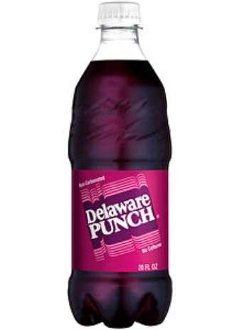 Delaware Punch: vendido nos Estados Unidos, esse refrigerante é feito com um mix de frutas. Entre elas, o sabor de uva é o que mais se destaca Foto: Divulgação