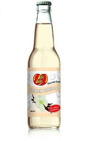 Jelly Belly French Vanilla: refrigerante com sabor de baunilha produzido na Califórnia Foto: Divulgação