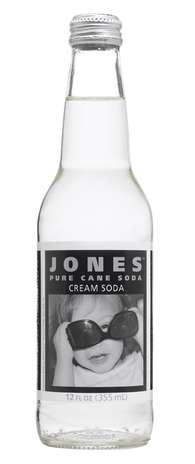 Jones cream: a marca é conhecida no Canadá e nos Estados Unidos por seus sabores diferentes. Esse é um refrigerante de baunilha Foto: Divulgação