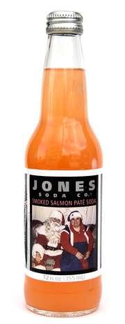 Jones Smoked Salmon Pate: outra edição especial e limitada feita com patê de salmão. A bebida foi lançada para comemorar os aspectos regionais da cidade de Seattle, onde fica a sede da empresa Foto: Divulgação