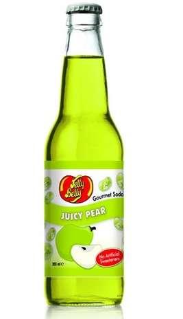 Jelly Belly Pear: bebida fabricada nos Estados Unidos com sabor de pera Foto: Divulgação