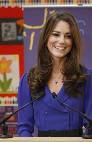 Kate Middleton é adepta da maquiagem Foto: Getty Images