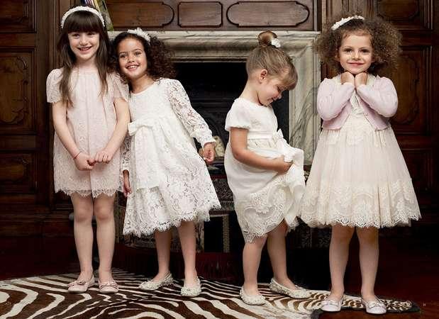 Oscar de la Renta, Dolce & Gabbana e Marni são algumas das grifes que estão investindo no segmento de luxo de roupas infantis Foto: Dolce & Gabbana / Divulgação
