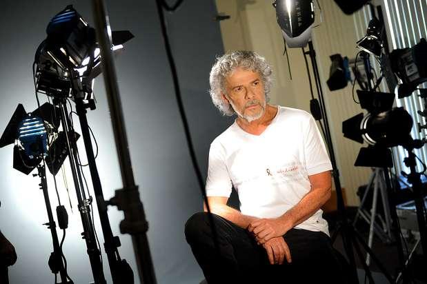 O ator José Mayer também foi uma das estrelas a participar da campanha Foto: Divulgação