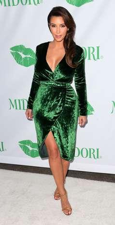 """""""Eu passo laser em tudo"""", disse Kim Kardashian sobre depilação durante participação no programa 'Oprah's Next Chapter' Foto: Getty Images"""