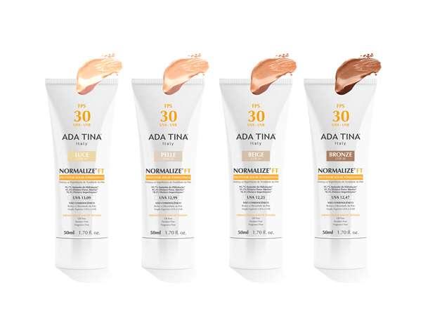 Lançamento conta com quatro tonalidades de base corretiva para deixar a tonalidade da pele homogenia  Foto: Divulgação