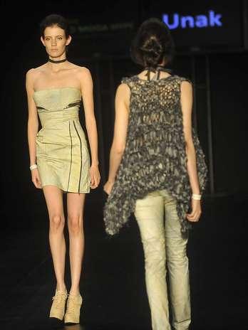 Desfile da grife Sann Macuccy no Prêmio Rio Moda Hype no Fashion Rio Foto: Daniel Ramalho / Terra