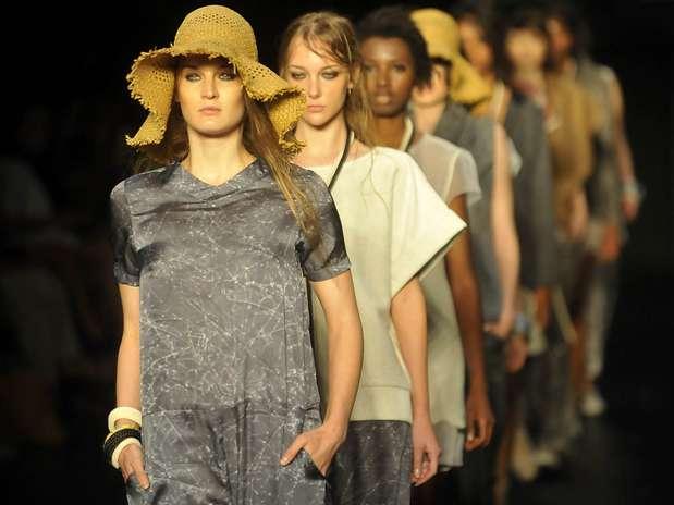 Desfile da grife Wasabi no Prêmio Rio Moda Hype no Fashion Rio Foto: Daniel Ramalho / Terra