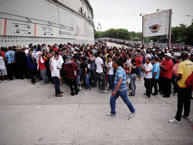 Até o início da tarde desta quinta-feira, mais de 21 mil ingressos já haviam sido vendidos para a partida contra o Náutico Foto: Bruno Santos / Terra