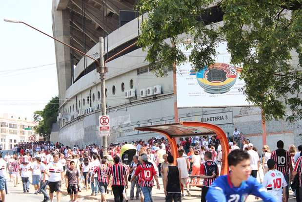 O investimento feito pelo São Paulo, com auxílio do Grupo DIS, foi de R$ 23,9 milhões para contratar Paulo Henrique Ganso junto ao Santos Foto: Tamires San / vc repórter