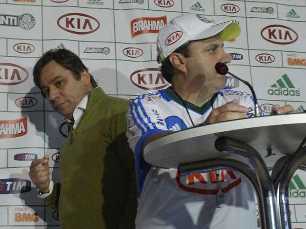Técnico já se refere a argentino como reforço do clube; presidente Tirone está fora do Brasil para selar acordo Foto: Ricardo Matsukawa / Terra