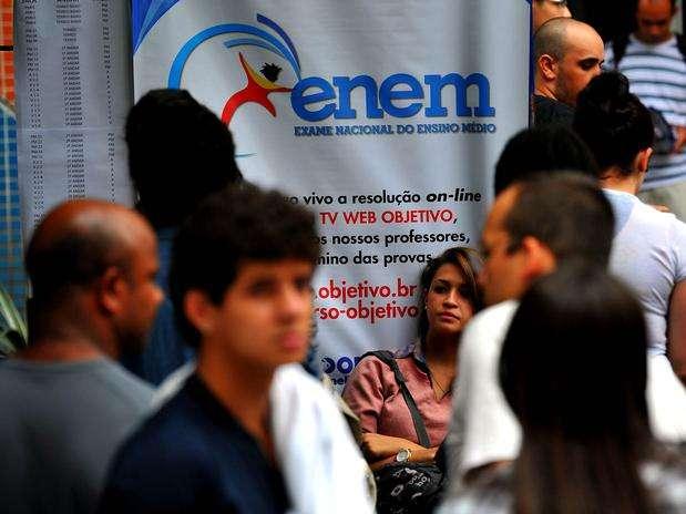 As provas foram realizadas em 1.615 municípios, em todo o país, por 4,1 milhões de participantes Foto: Edson Lopes Júnior / Terra