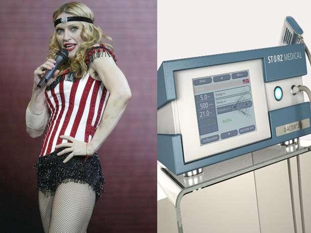 Queridinho da pop star Madonna, equipamento emite ondas de pressão para penetrar nas camadas mais profundas da pele e destruir os mais variados tipos de celulites Foto: Divulgação