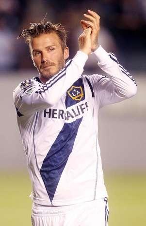 David Beckham, 37 anos, deve trocar Los Angeles Galaxy por outra equipe Foto: BangShowBiz / BangShowBiz
