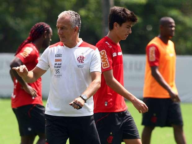 Dorival ganhou reforço de Amaral no Flamengo Foto: Bernardo Monteiro/Vipcomm / Divulgação