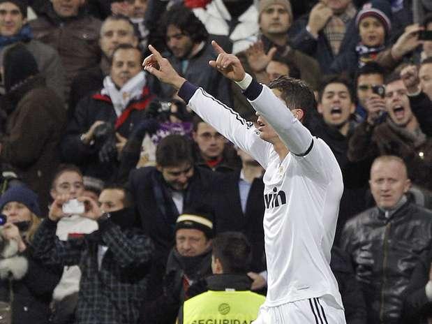 Cristiano Ronaldo deu show com grande atuação no clássico de Madri Foto: EFE