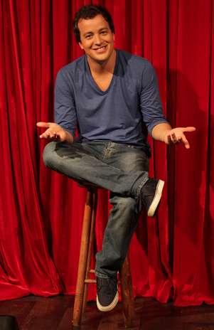 Rafael Cortez foi anunciado como apresentador do show de talentos Foto: TV Record / Divulgação