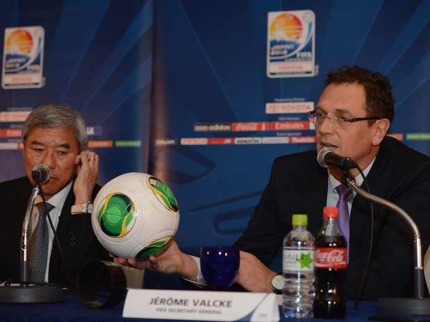 Bola Cafusa está equipada com tecnologia que vai estrear no Mundial de Clubes Foto: Getty Images