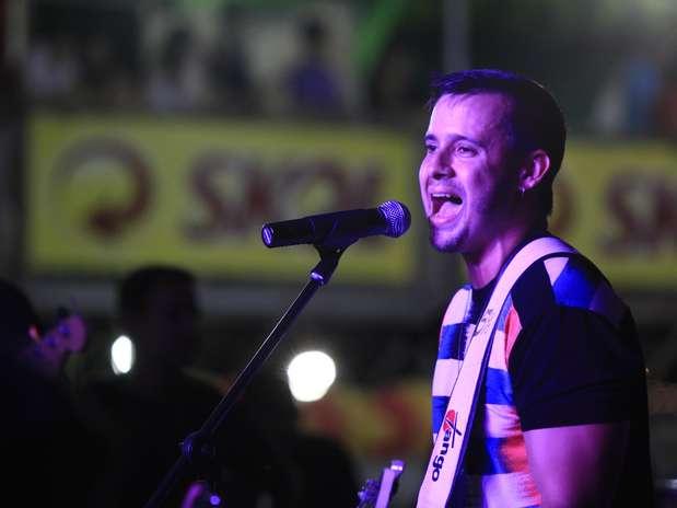 A banda Cinco Por Cento também agradou o público Foto: Agencia Groupe e Fred Pontes / Divulgação