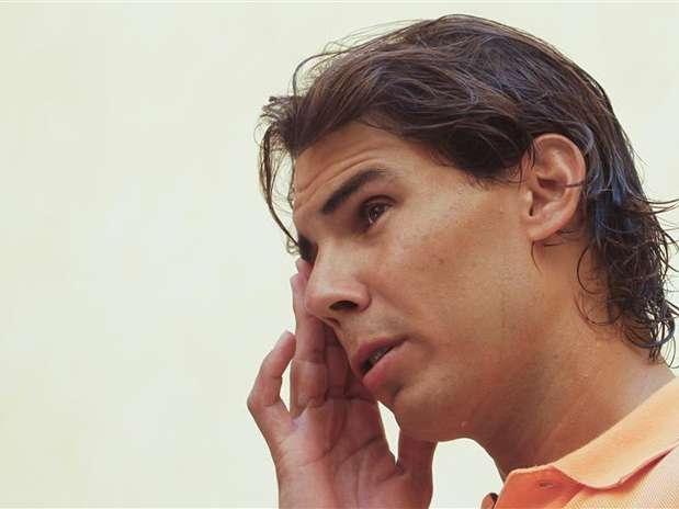 Rafael Nadal está fora das quadras desde o torneio de Wimbledon, em junho Foto: Reuters
