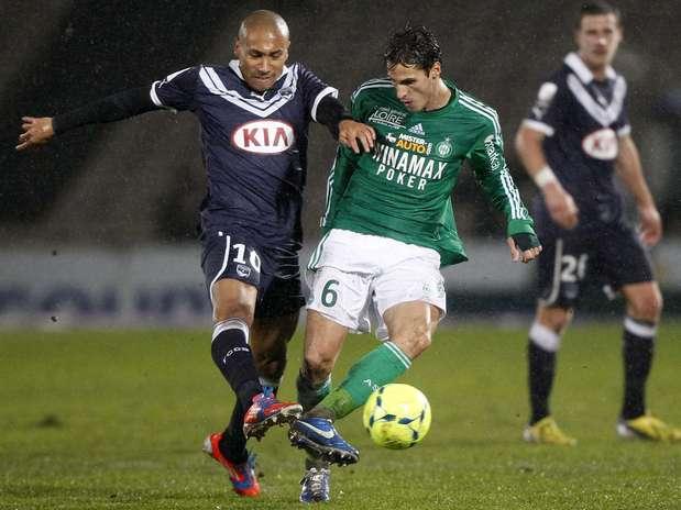 Bordeaux e St. Etienne fizeram jogo truncado e sem gols Foto: Reuters