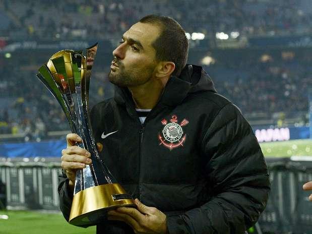 """Danilo relembrou \""""sufoco\"""" contra o Liverpool, pelo São Paulo, em 2005, e manifestou desejo de voltar a disputar o Mundial Foto: Ricardo Matsukawa / Terra"""