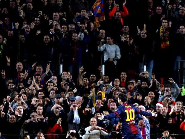 Messi recebe o segundo maior salário da Europa Foto: EFE