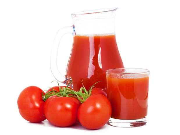 Suco de tomate dá sensação de saciedade e controla a hidratação do organismo Foto: Shutterstock